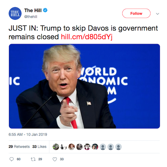 The Hill Tweet