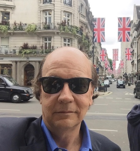 Jim Rickards in London