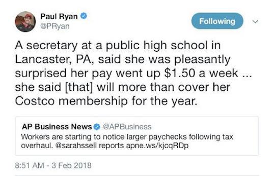 Paul Ryan tweet