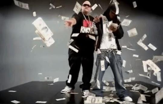 money falls