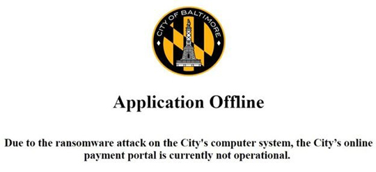 Baltimore City Cyber Attack