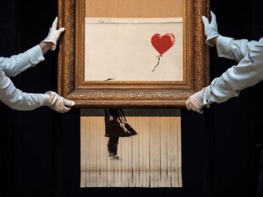 Banksy Prank