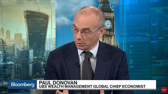 Bloomberg Paul Donovan