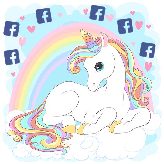 Unicorn Facebook