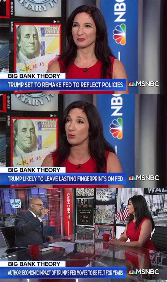 Nomi Prins MSNBC