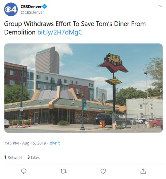 Tim's Diner Denver