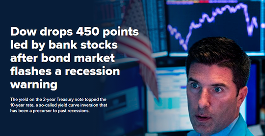 Dow Drops 450 Points Stock Broker Stressed