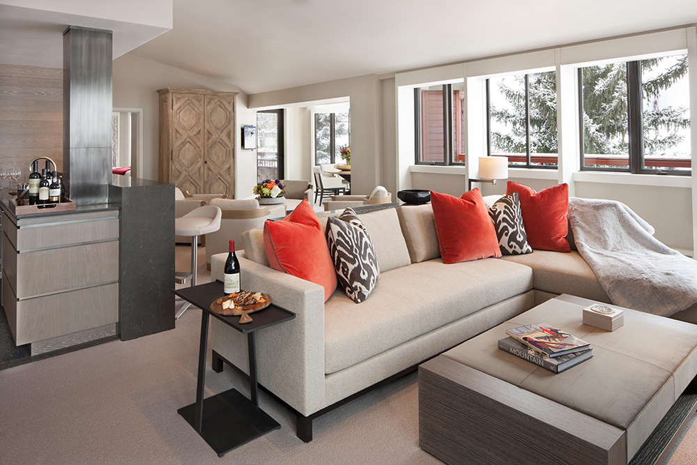 Suite at The Little Nell in Aspen, Colorado