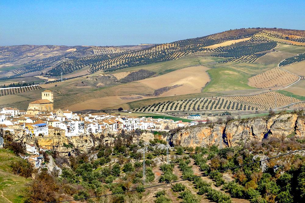 Landscape of Alhama de Granada