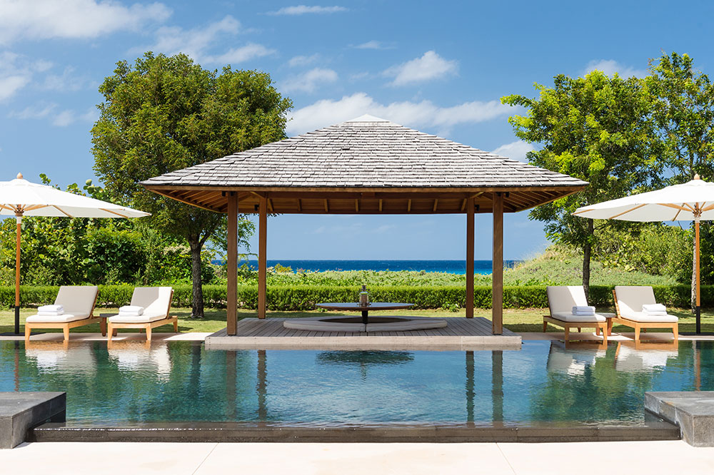 Amanyara Villa pool view