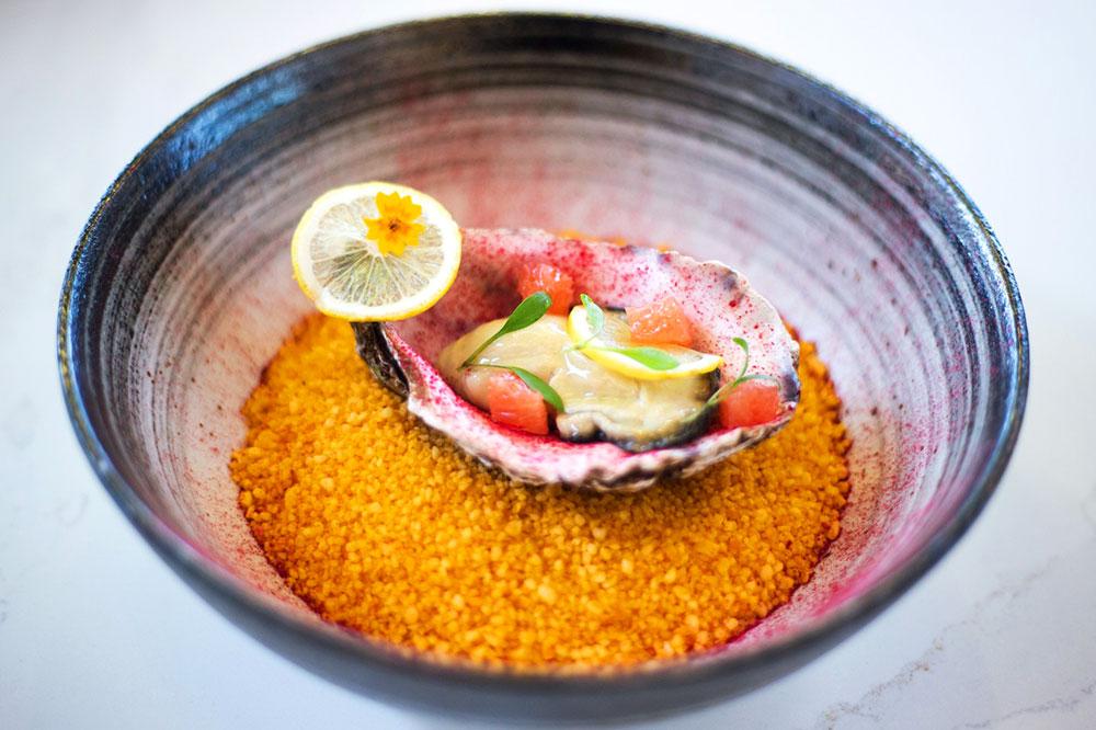 The Amelie Sicilien dish at Amélie