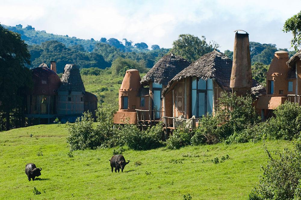 &Beyond Ngorongoro Crater Lodge in Ngorongoro Conservation Area, Tanzania