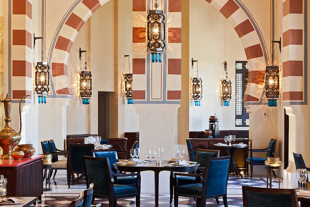 1902 Restaurant at the Sofitel Legend Old Cataract Aswan - Photo by Hideaway Report editor