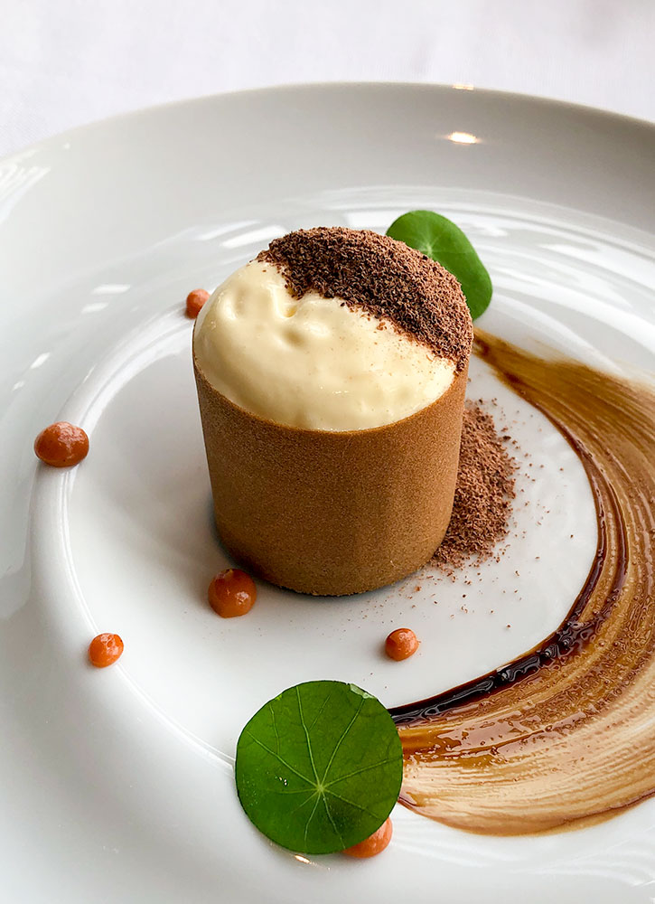 Dessert at Azure 45