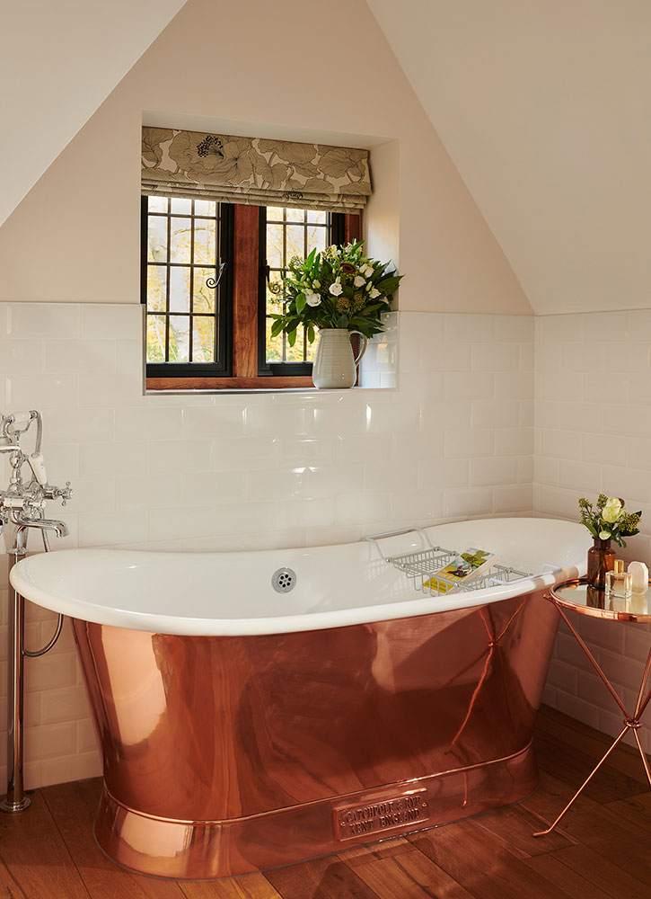 Bath in the North Lodge, Coworth Park