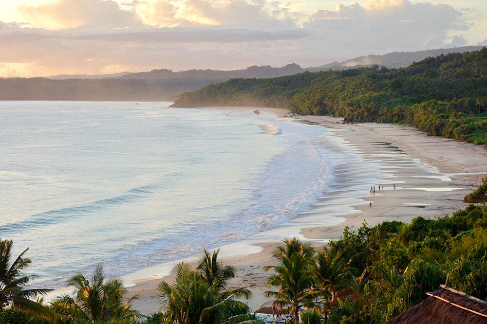 The beach at Nihi Sumba on Sumba Island, Indonesia