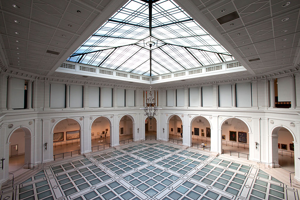 The Beaux Arts Court at the Brooklyn Museum