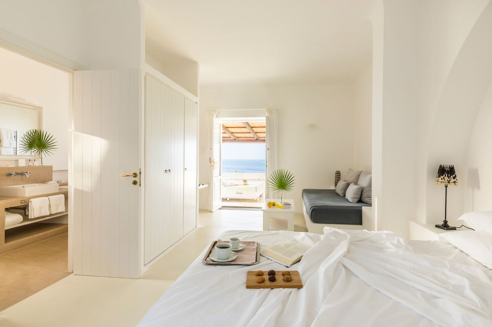Suite 21 at Capofaro on the island of Salina, Italy