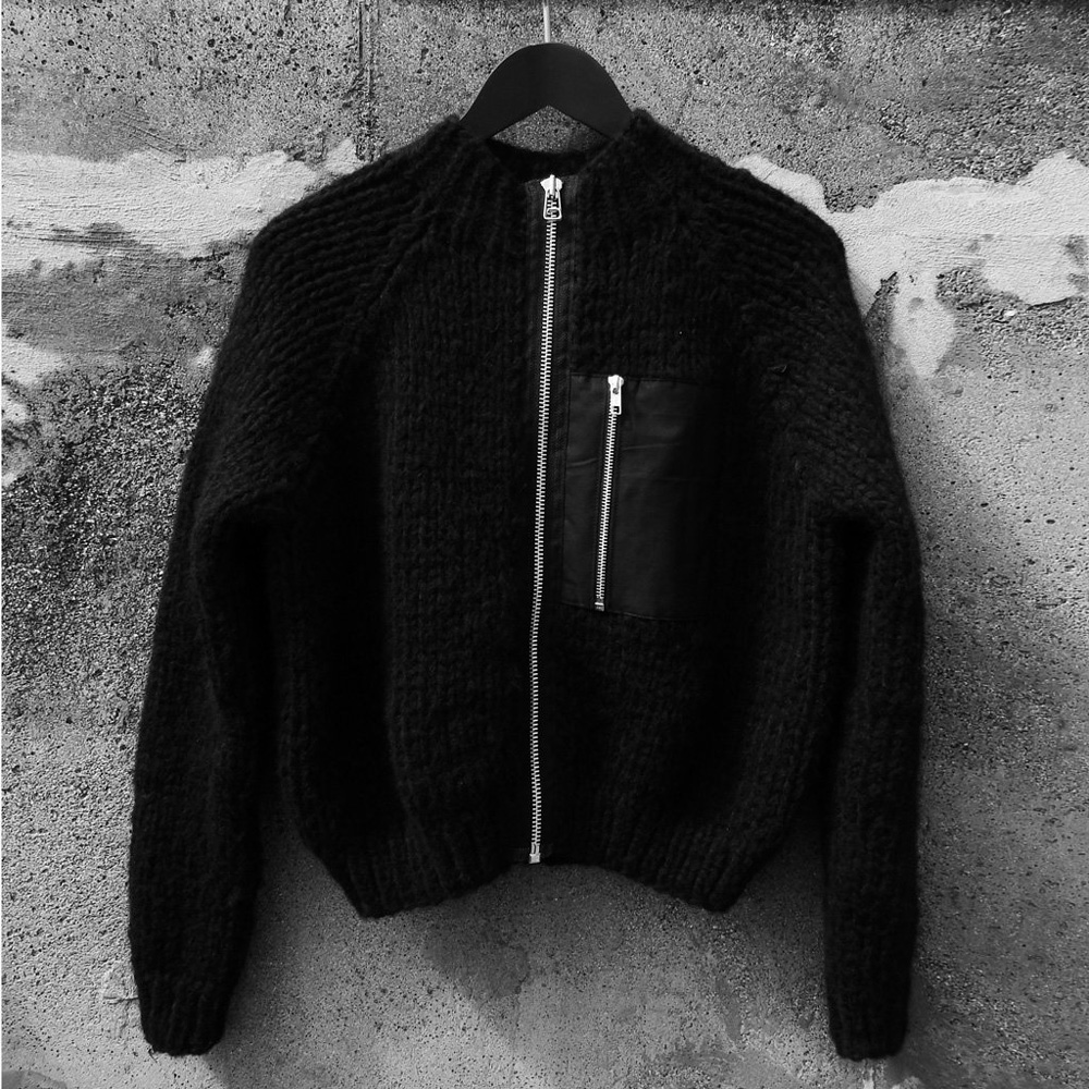 Bomber jacket at Østrøm