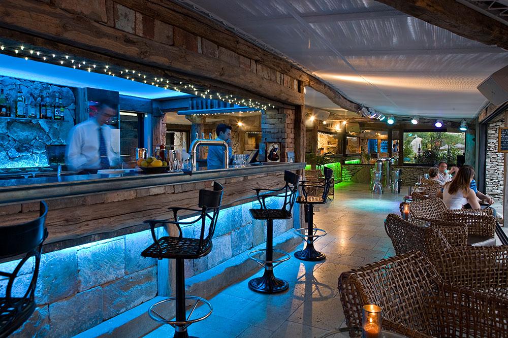 The bar in U Capu Biancu