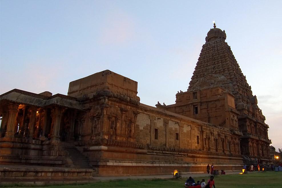 Brihadisvara Temple, one of the Great Living Chola Temples (UNESCO)