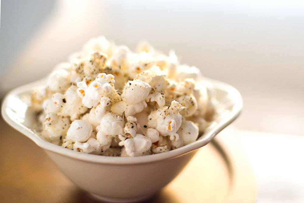 Cacio e Popcorn at Compagnie des Vins Surnaturels