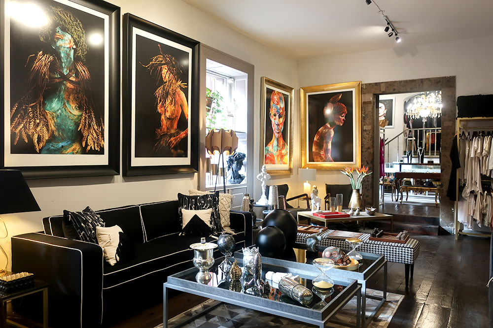 Home furnishings and décor at Casa R Concept Store in San Miguel de Allende