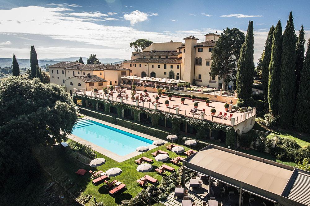 COMO Castello Del Nero in Tuscany, Italy