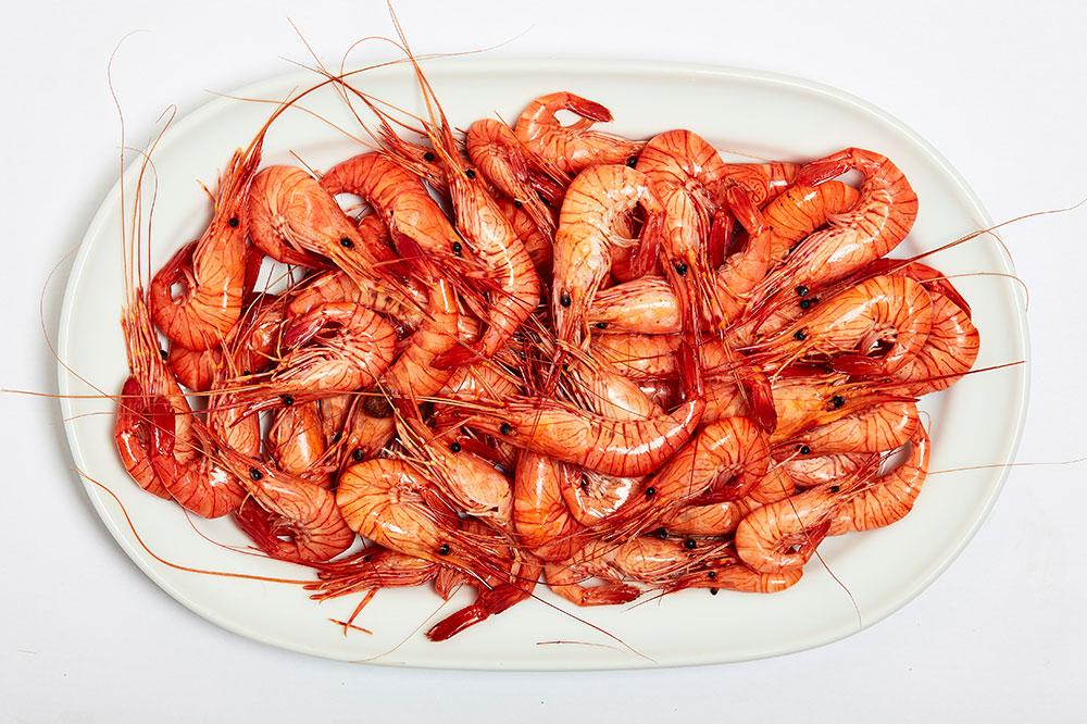 Small shrimp at Cervejaria Ramiro