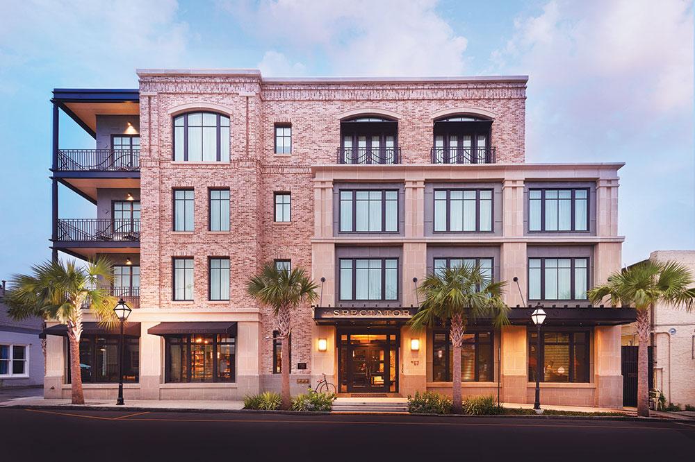 The Spectator Hotel in Charleston, South Carolina