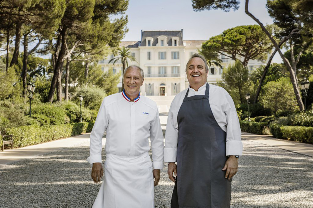 Chefs Eric Frechon and Arnaud Poette