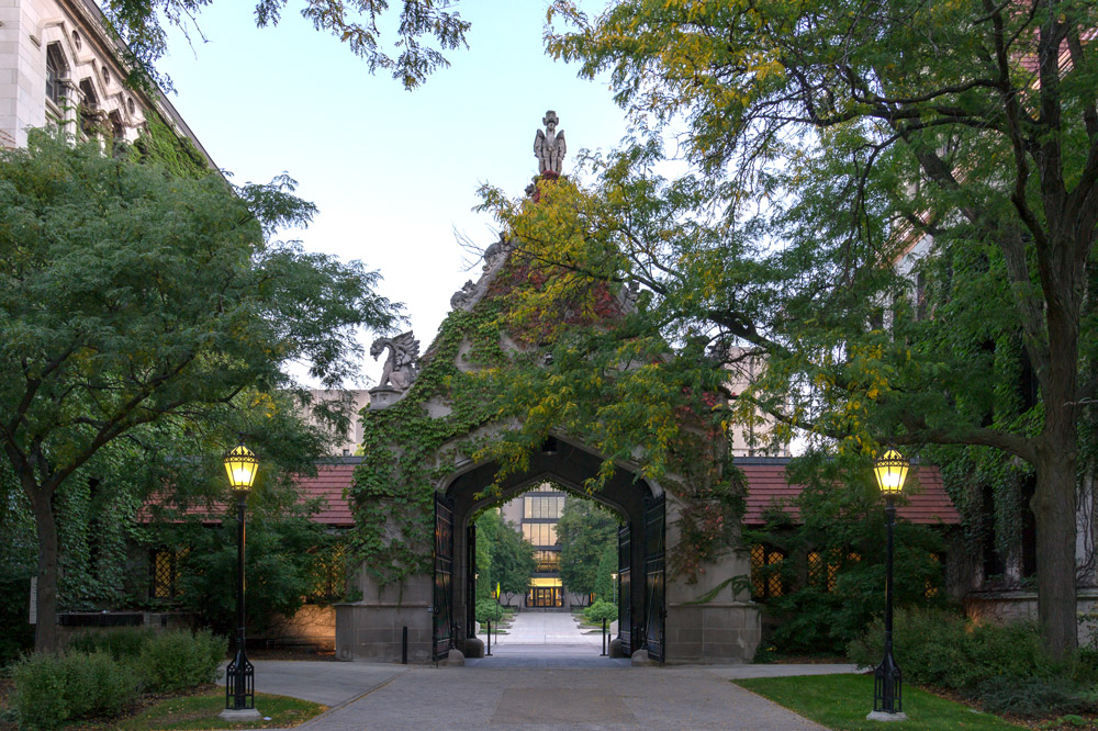 Cobb Gate at The University of Chicago