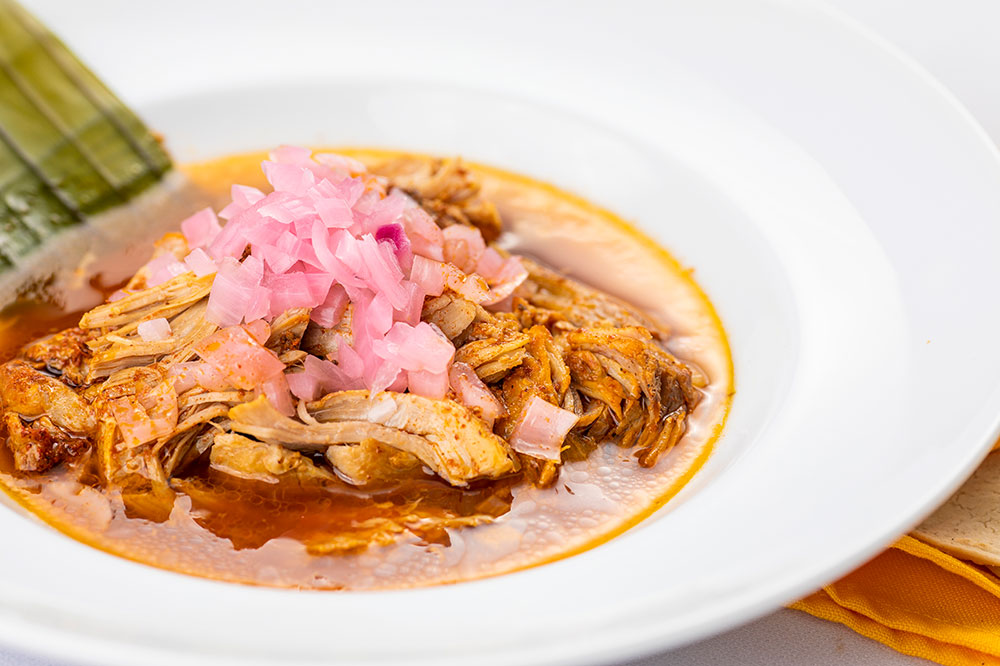 <i>Cochinita pibil</i> from Los Almendros in Mérida