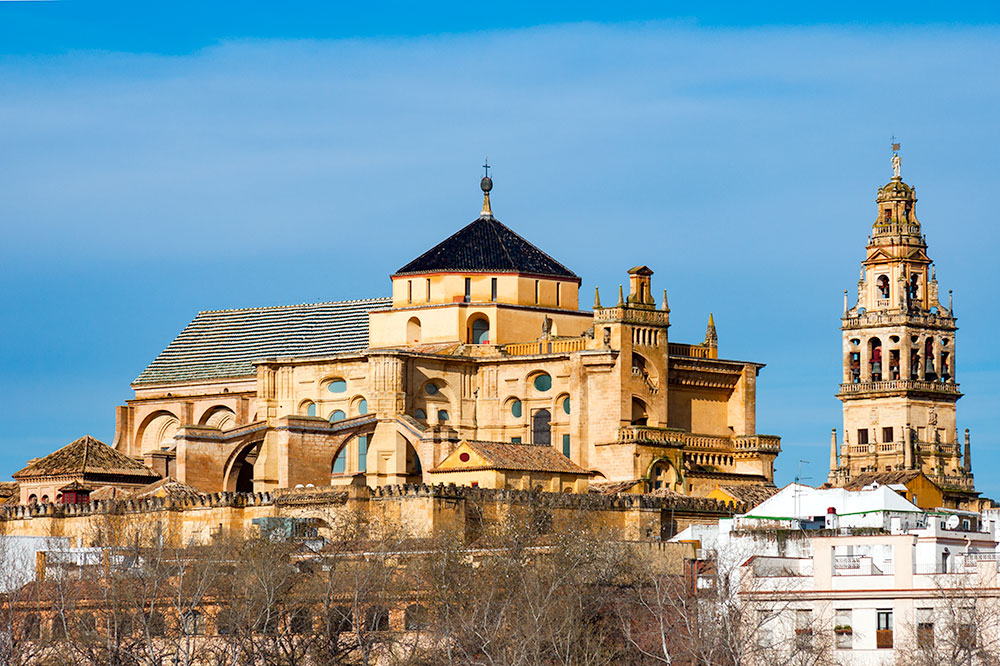 View of the Mosque-Cathedral of Córdoba