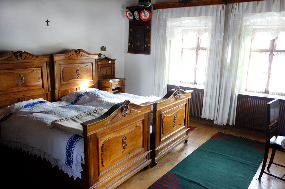 Our room at Count Kálnoky's Transylvanian Guesthouses