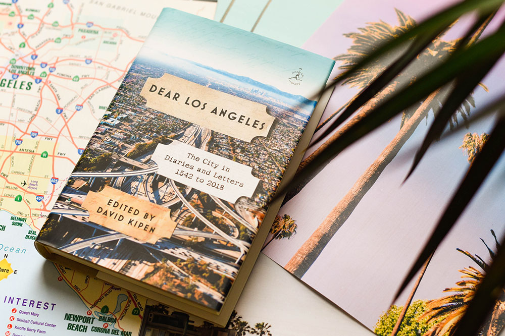 """Cover of """"Dear Los Angeles: The City in Diaries and Letters,"""" edited by David Kipen"""