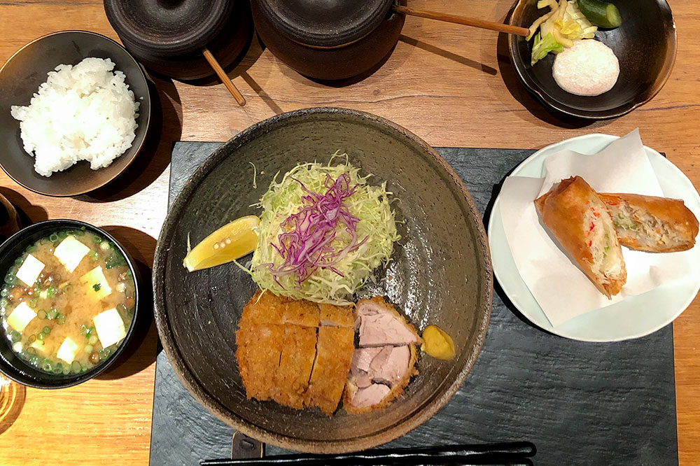 Deep-fried pork from Katsuzen