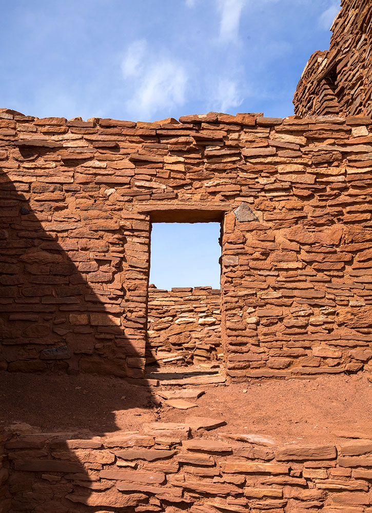 Details of the ruin at the Wupatki National Monument