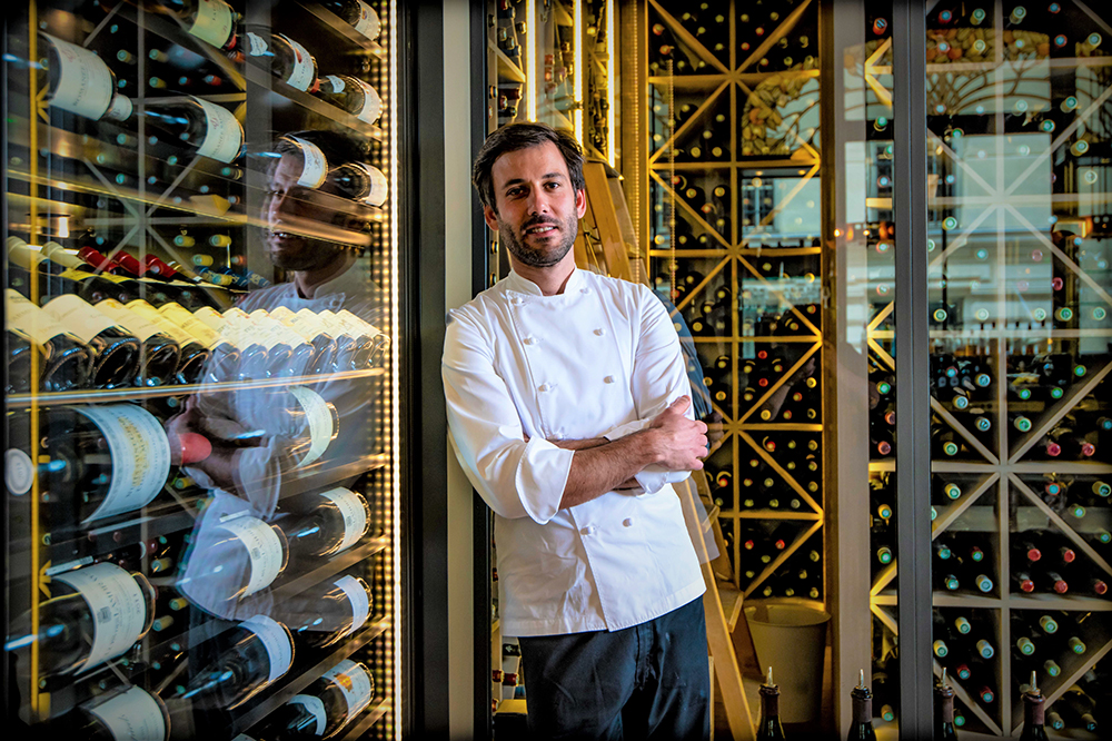 Executive chef Emmanuel Kouri of Les Climats