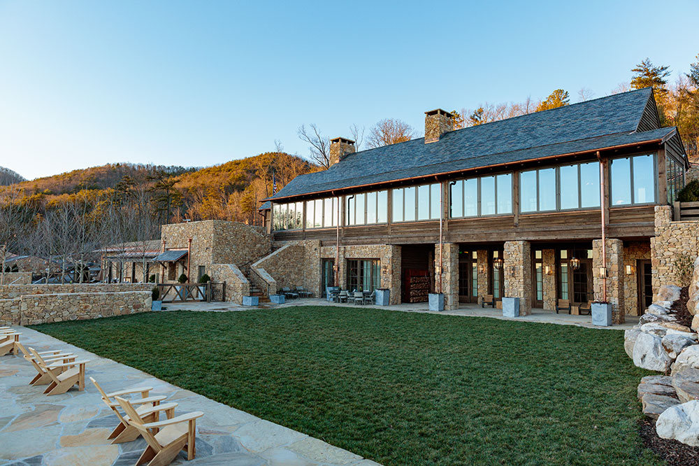 The Lodge at Blackberry Mountain in Walland, Tennessee