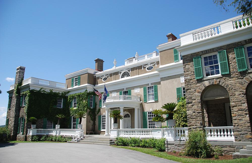 Home of Franklin D. Roosevelt in Hyde Park, New York