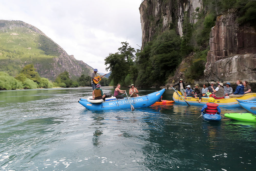 Rafting down the Futaleufú River