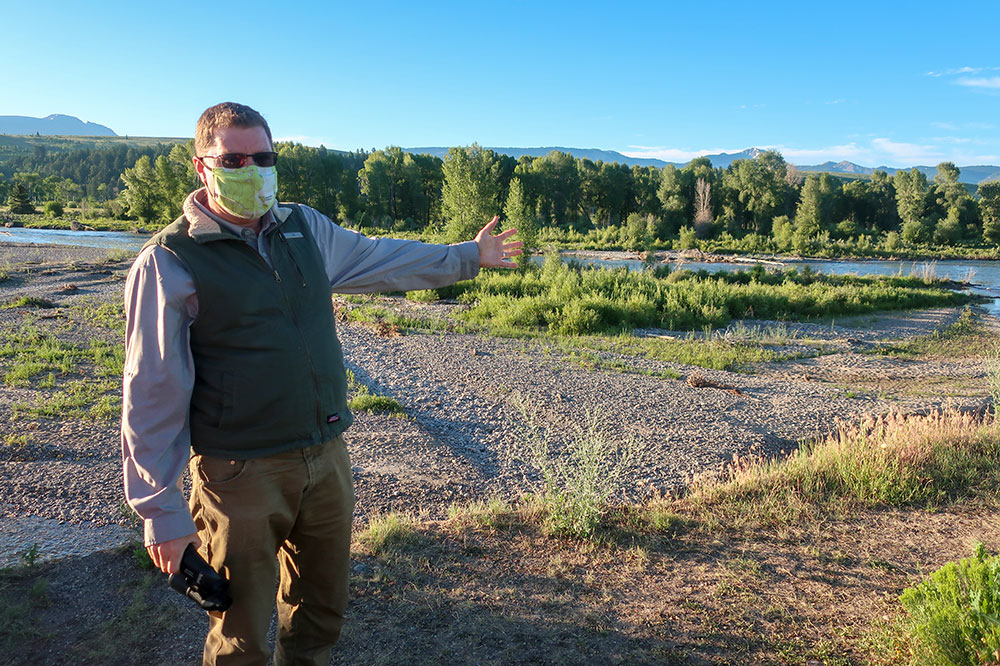 Our wildlife safari guide in Grand Teton National Park