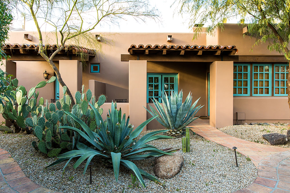Our Garden Casita at The Hermosa Inn in Paradise Valley, Arizona