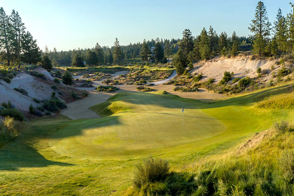 Hole 17 at Tetherow, Bend, Oregon