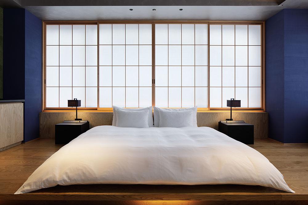 A room at Hoshinoya Tokyo in Tokyo