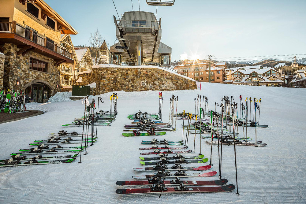 Ski-in and ski-out available at Madeline Hotel & Residences, Telluride, Colorado