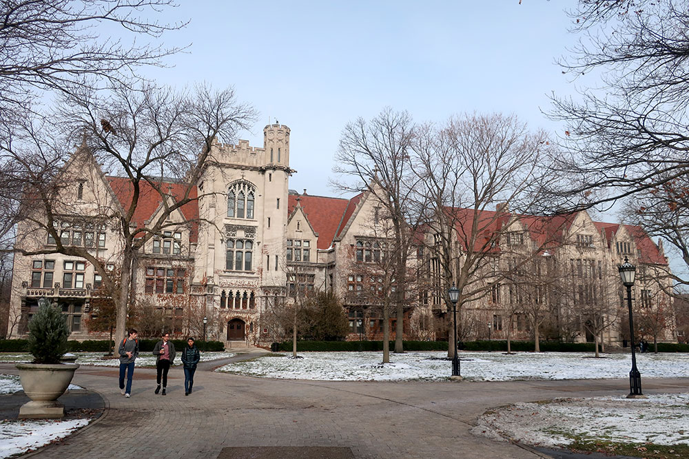 The University of Chicago in Hyde Park