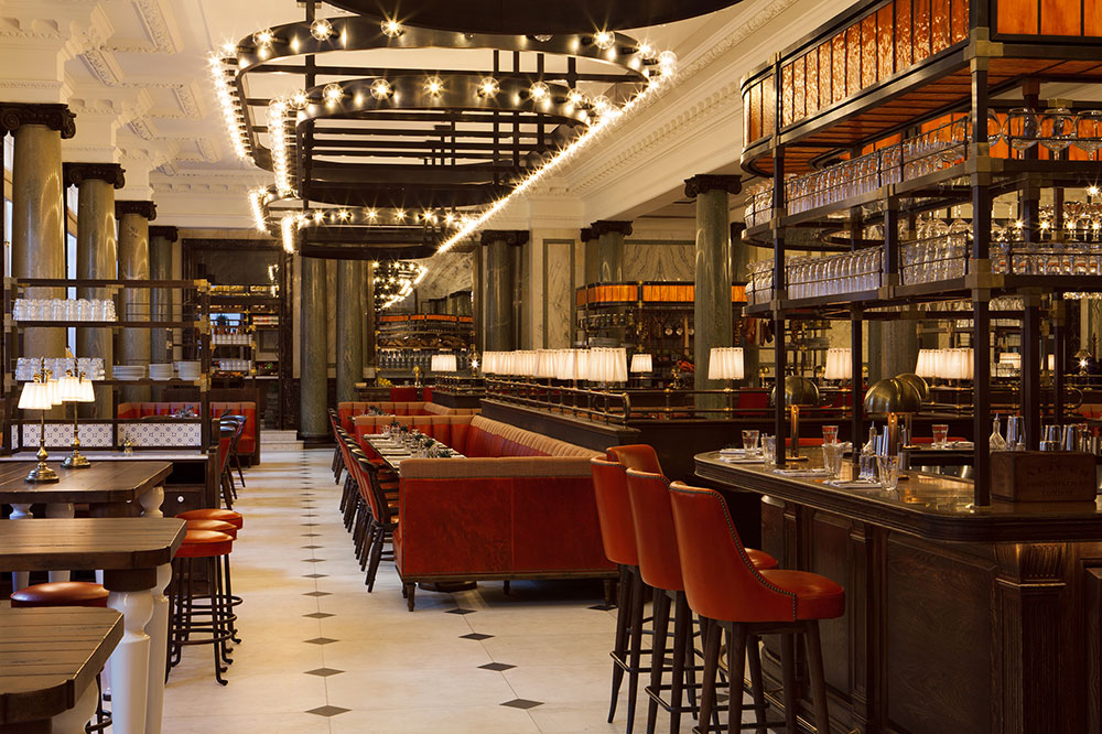 Holborn Dining Room restaurant at Rosewood London