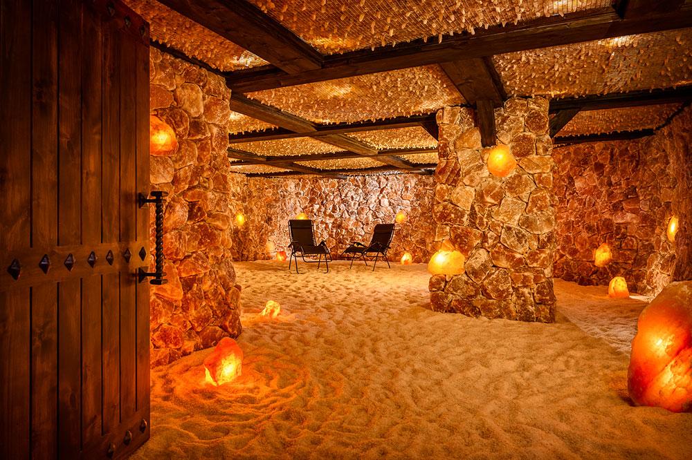 Interior of Salt Cave Santa Barbara